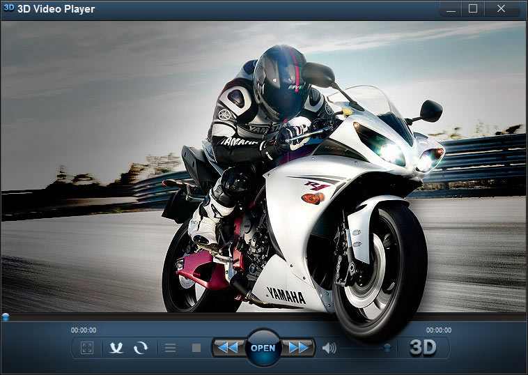 3D Video Player full screenshot